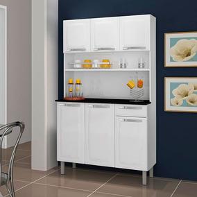Kit Cozinha Rose 6 Portas 1 Gaveta Itatiaia