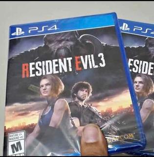 Resident Evil 3 Resident Evil Resistance Nuevo Sellado Ps4