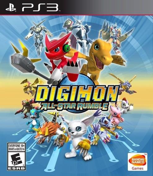 Digimon All-star Rumble (legendado) Ps3