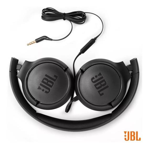 Headphone Jbl Tune500 Branco Com Fio Original
