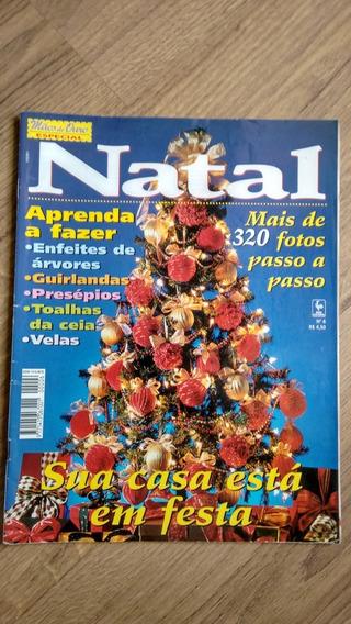Revista Mãos De Ouro 6 Natal Bordados Decoração Velas N552