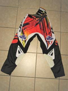Pantalon Motocross Enduro Cuatrimoto Thor Mujer Talla 3-4
