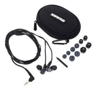 Audifonos In-ear Shure Se215-k + Garantía