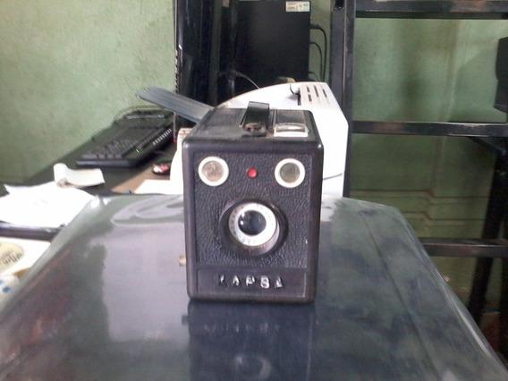 Máquina Fotográfica Kapsa Antiga Para Colecionador