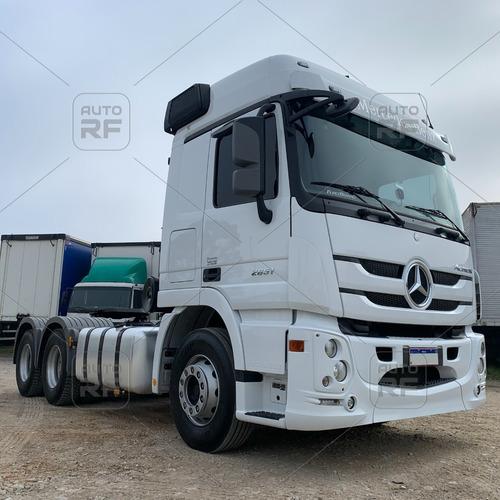Imagem 1 de 15 de Cavalo Mercedes 2651 6x4 2020 Único Dono Com Retarder