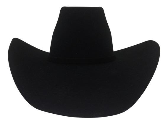 Sombrero Texana 20 X Tombstone Color Negro 8 Segundos Lana
