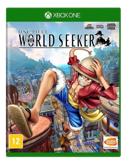 One Piece World Seeker Xbox One Envio Imediato Mídia Física