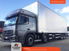 Caminhão Mercedesbenz Atego 3030 Bitruck Baú Carga Seca