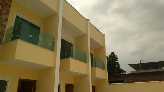 Casa Com 2 Dormitórios À Venda, 75 M² - Parque São Bernardo - Belford Roxo/rj - Ca0214