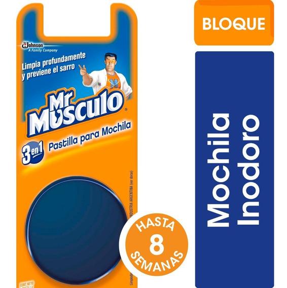 Mr Músculo Bloque Para Mochila Baño - 3 Unidades