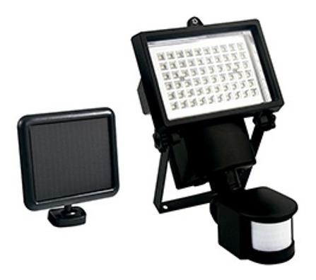 Refletor Holofote Solar Led Luminária Sensor Liege - 854956