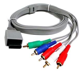 Cable Componente Para Nintendo Wii / Wii U Av Hd