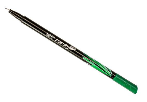 Caneta Ultrafina Intensity Bic Ponta 0.4mm Unitário Verde