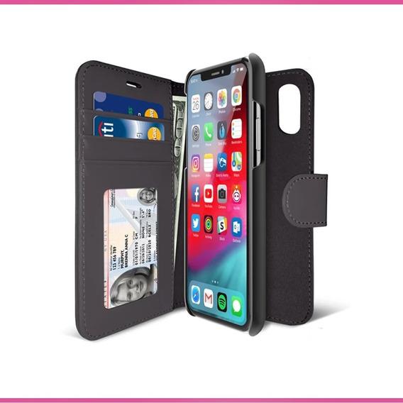 Funda Libro Tarjeta Billetera Iluv Wallet Case iPhone Xs Max