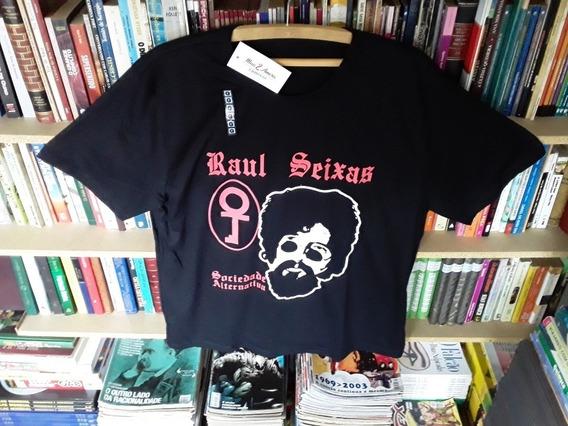 Camiseta Raul Seixas Sociedade Alternativa Tamanho G