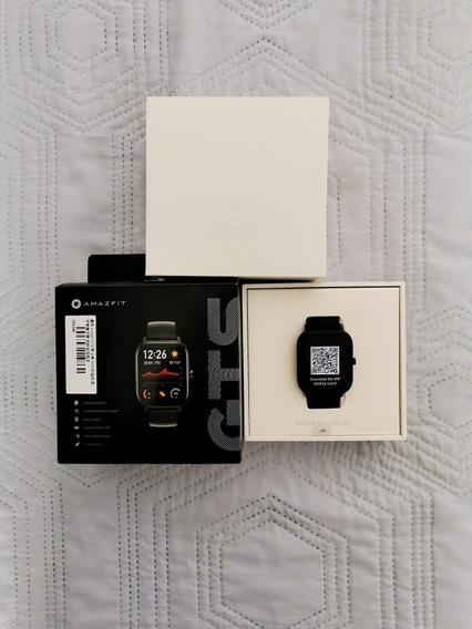 Reloj Smartwatch Amazfit Gts Negro Acero Inox