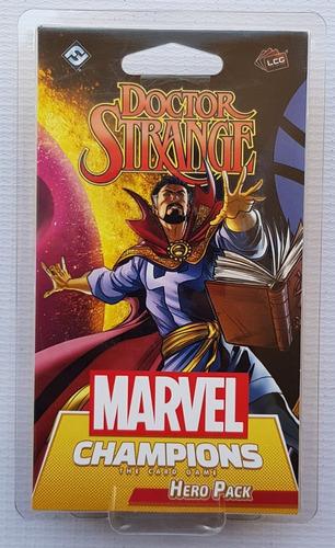 Marvel Champions Card Game Doctor Strange Hero Pack Nuevo!!!