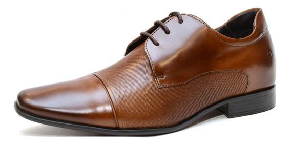 Zapato Democrata Hombre Taco Interno + 6 Cm 061109 - Cuotas