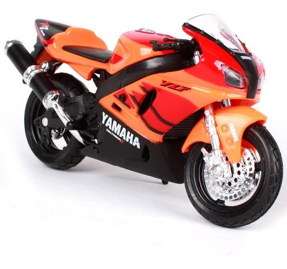 Miniatura Moto Colecionador Yamaha Yzf-r7 Escala 1:18 Maisto