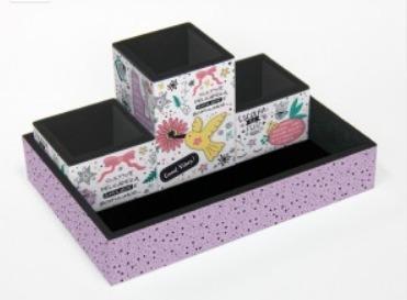 Organizador De Mesa - Beija Flor - Fina Ideia