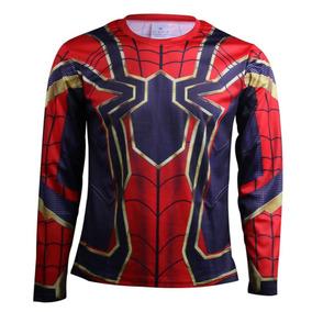Playera Spiderman Avengers Endgame Infinity War Gym