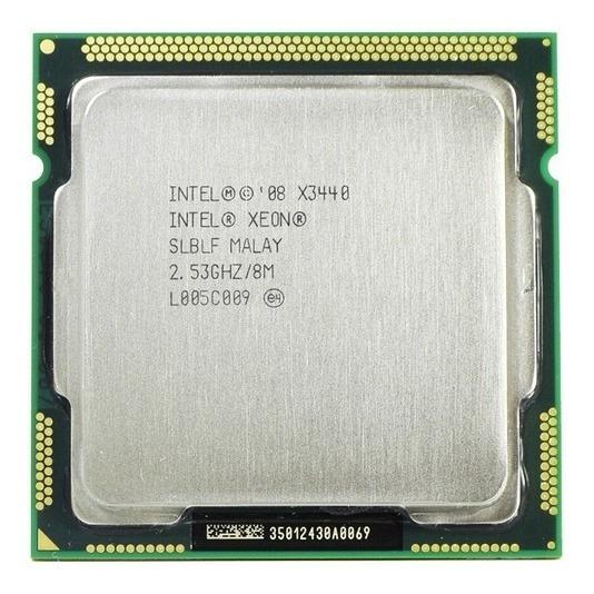 Intel Xeon X3440 Lga1156 2.53 Ghz 8mb Cache + Pasta Térmica