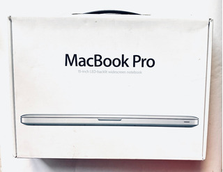 Caja Macbook Pro 15,4