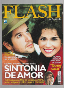 Flash Revista Amaury Jr. 18 Giovanna Antonelli Murilo Benici