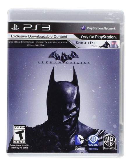 Batman Arkham Origins Ps3 Mídia Física Lacrado Nfe