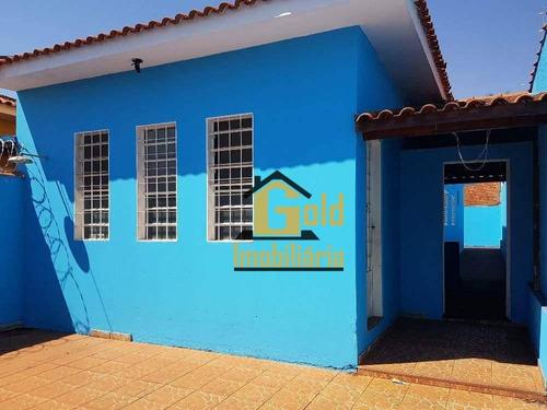 Casa Com 3 Dormitórios À Venda, 82 M² Por R$ 280.000 - Residencial E Comercial Palmares - Ribeirão Preto/sp - Ca0560