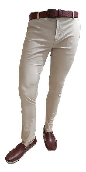 Pantalón Gabardina Yves Saint Laurent Original!!