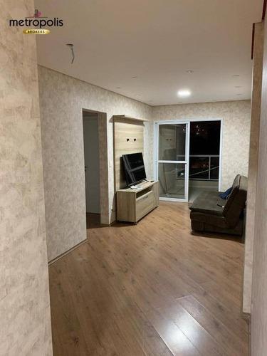 Imagem 1 de 11 de Apartamento À Venda, 70 M² Por R$ 477.000,00 - Fundação - São Caetano Do Sul/sp - Ap1923