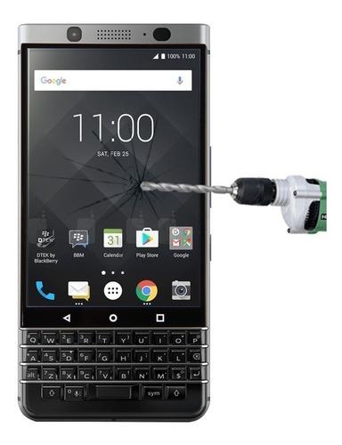 Imagen 1 de 9 de Vidrio Templado Blackberry Keyone 9h Plano Protege De Impa #