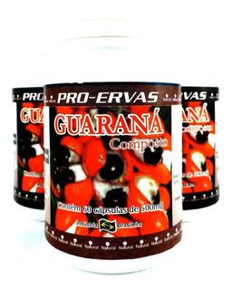 Combo 12 Potes Guarana Tribulus Terrestris Ext 720 Caps Pró