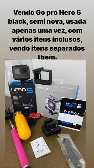 Câmera Gopro Hero Black 5 Mais Acessorios