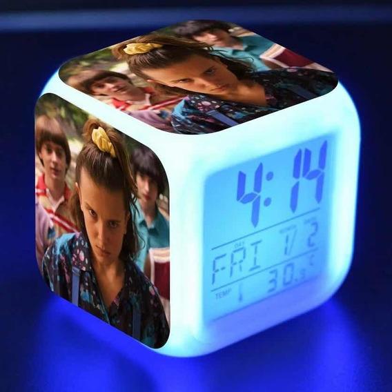 Reloj Despertado Con Luz Led