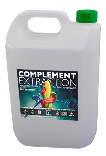 Imagen 1 de 3 de Alcohol De 96° Pentadestilado Complement 5 Lit Potable.
