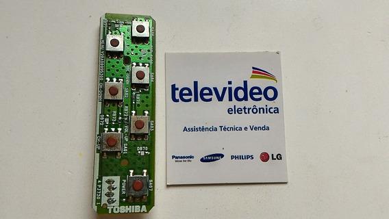 Placa Das Chaves Tv 32 Toshiba 32rv700