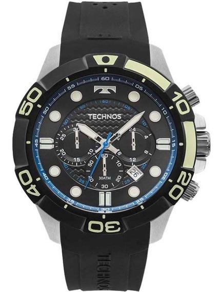 Relógio Technos Acqua Js25bq/8p 30 Atm Lançamento + Frete