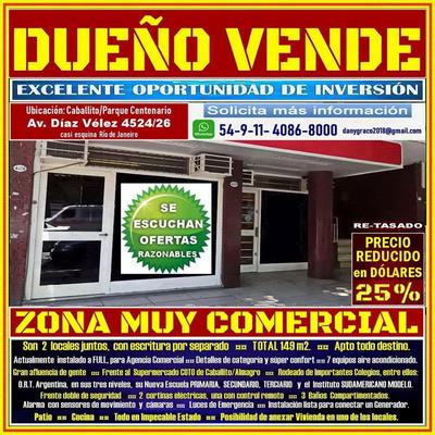 Caballito Av Díaz Vélez 4524-- El Precio Fue Reducido Un 25%