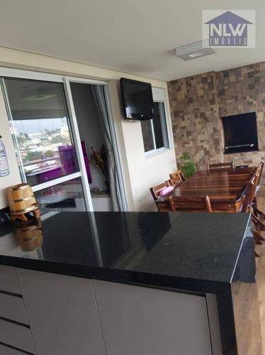 Apartamento Com 3 Dormitórios À Venda, 85 M² Por R$ 910.000,00 - Jaguaré - São Paulo/sp - Ap3471