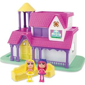 Casa Divertida Beauty Girls Casinha Boneca Brinquedo