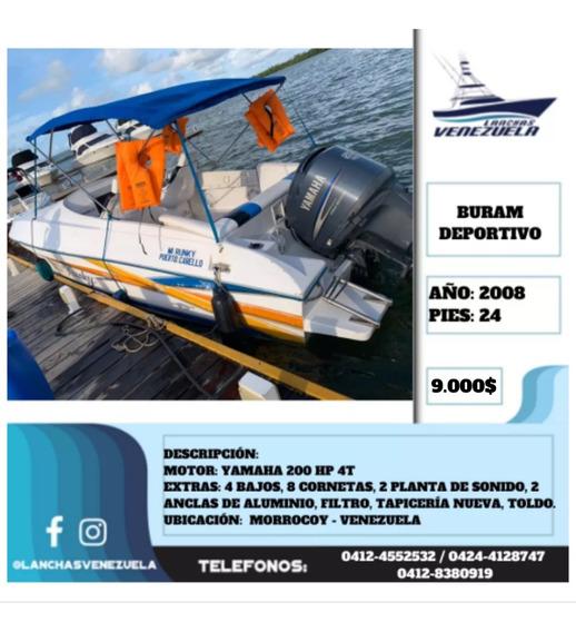 Lancha Buram Deportivo 24 Lv445