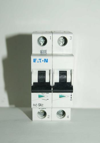 Minibreaker Bipolar Eaton Faz-s4/2  4a Código 01266