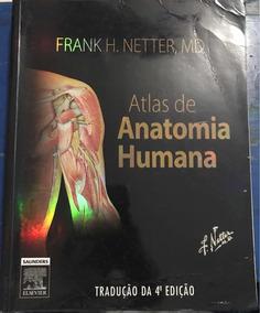 Livro Atlas De Anatomia Humana - Netter, 4ªedicao