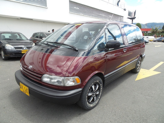 Toyota Previa Deluxe At 2400cc 8psj
