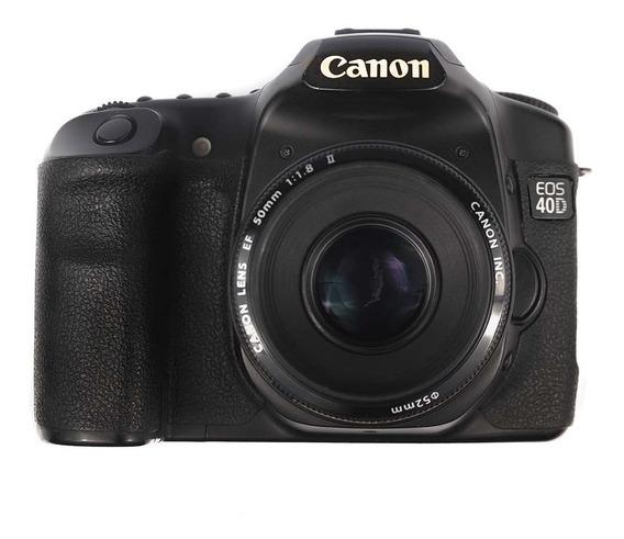 Dslr Canon 40d + Lente 50mm F1.8