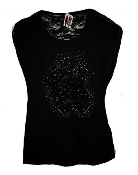 Remera De Mujer Importada Talles M,l,xl $580