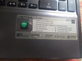 Notebook Acer I5 15 6