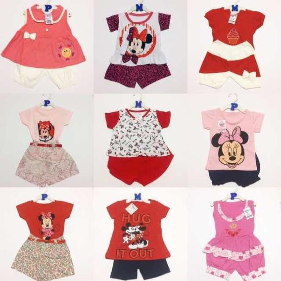 Roupa Bebê Menina Infantil Kit 10 Conjuntos Feminino Atacado